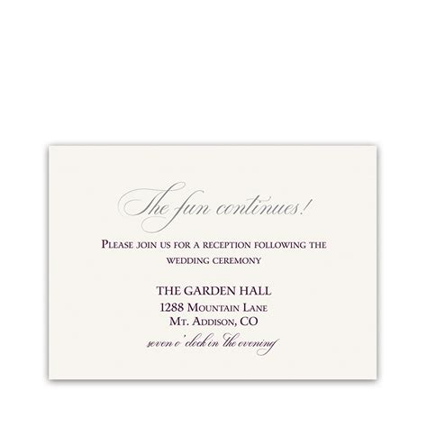 reception detail card free template burgundy script wedding reception details card