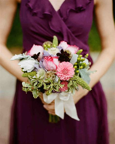Bridesmaid Flowers by 38 Ideas For Your Bridesmaids Bouquets Martha Stewart