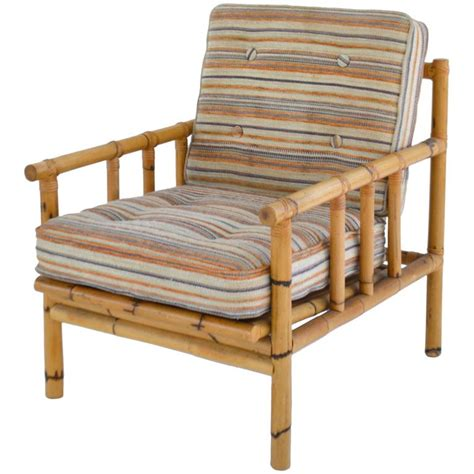 bamboo chairs mid century bamboo club chair for sale at 1stdibs
