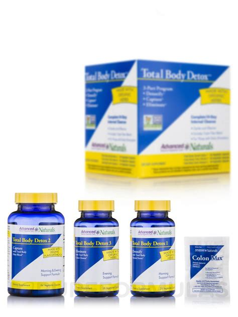 Best Easy Total Detox by Total Detox 3 Part Kit