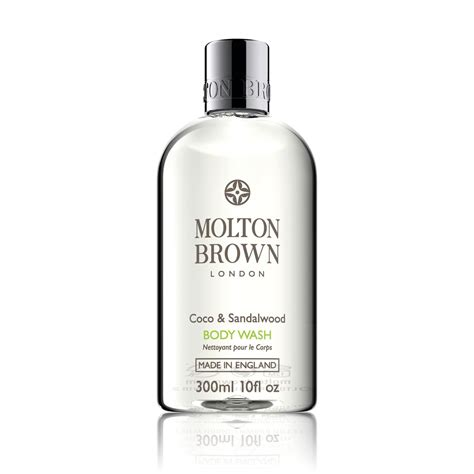 Molton Brown Bath And Shower Gel coco sandalwood shower gel body wash molton brown 174 uk