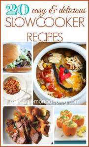 20 easy and delicious slow cooker recipes making lemonade