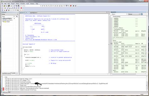 iar work bench arm assembly ide for linux compiler debugger assembly