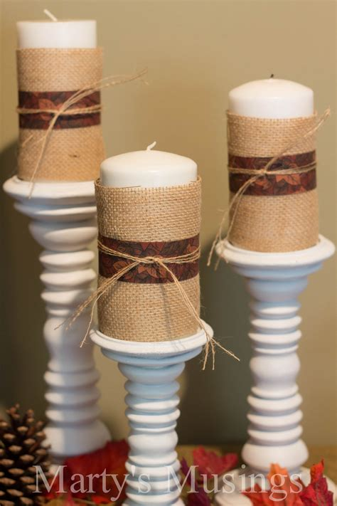 Candle Home Decor Easy Diy Projects For Fall