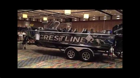 crestliner raptor boats crestliner raptor 2100 2016 модельный год youtube