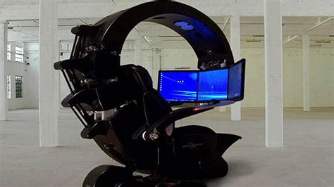 ultimate gaming chair setup sick gamers chair screen style entertainment