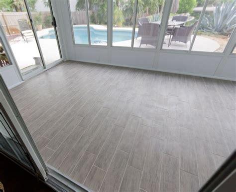Tiled Sunroom sue sunroom week 3 sunroom tile wood floor tiles and sunrooms