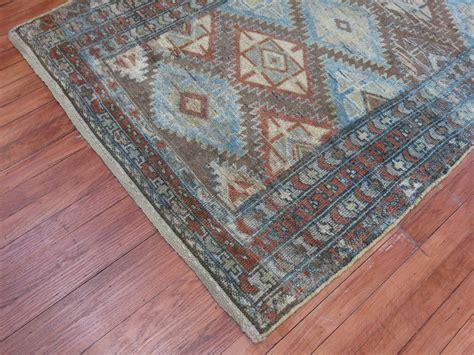 tribal pattern rug tribal persian kurd rug with geometric pattern at 1stdibs