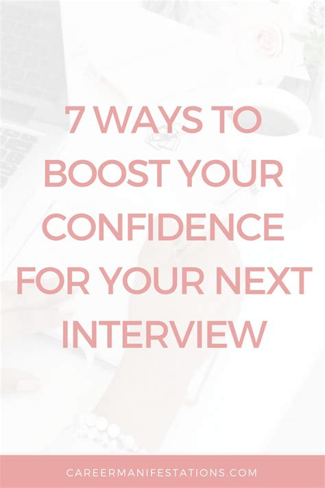 7 Ways To Improve Your Confidence 7 ways boost confidence before career