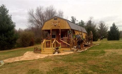 sq ft kit shed transformed   amazing tiny home