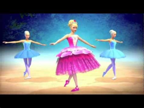 barbie  le scarpette rosa trailer youtube