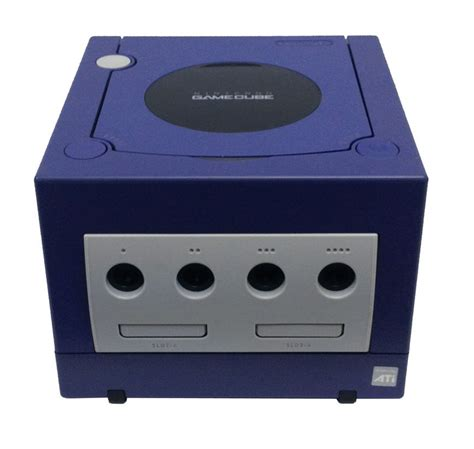 nintendo gamecube console for sale nintendo gamecube console purple pre owned the gamesmen