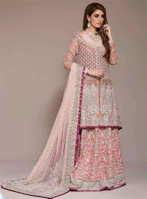 pakistani bridal wedding lehenga designs 26 fashioneven