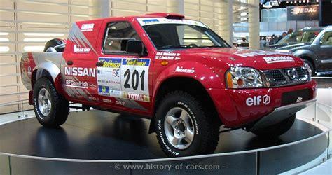 nissan dakar nissan 2003 pickup rally dakar the history of cars