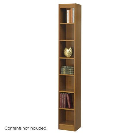 safco 7 shelf 12 in single bookcase