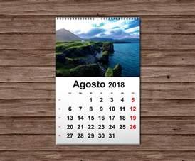 Calendario 2018 Personalizado Calendarios De Pared 2018