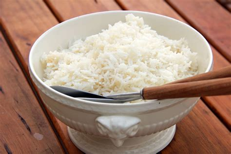 perfect steamed rice recipes dishmaps