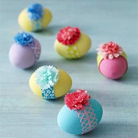 pretty easter eggs pretty banded easter eggs pictures photos and images for