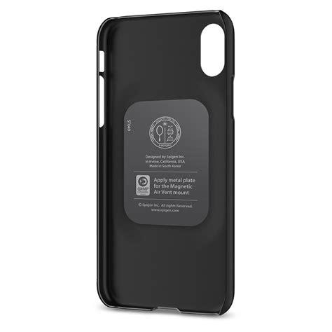 Original Spigen Thin Fit Iphone X Black iphone x thin fit spigen bdi store