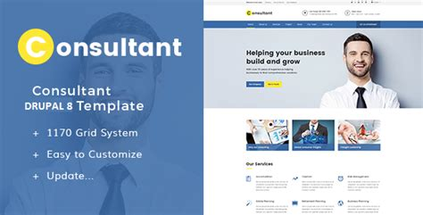 drupal themes for business website 5 great drupal business themes cms critic