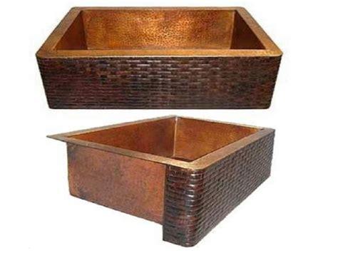 Copper Kitchen Sinks For Sale by Copper Farmhouse Sink Brick Design Apron 22x16x6 5