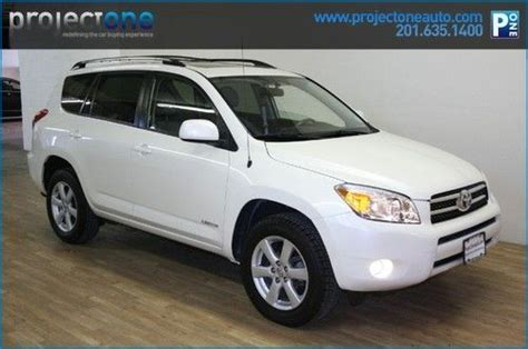 Toyota Carlstadt Nj Purchase Used 2008 Toyota Rav4 White 67k Sunroof One