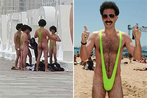 Sascha Baron Cohen As Borat Photocall And Press Conference At The Sydney Opera House by Borat Sacha Baron Cohen Agrees To Pay The Of Six