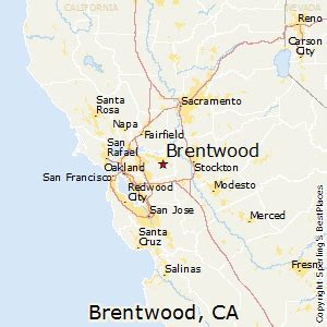 map of brentwood california best places to live in brentwood california