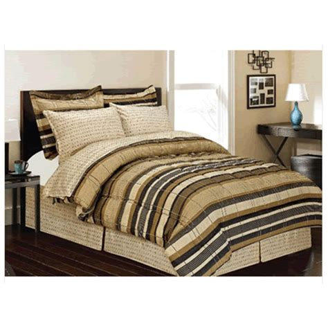 twin bed in a bag plazatex 6pc twin bed in a bag set or 8pc queen bed in a