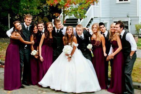 wedding dresses maroon colour wedding color scheme burgundy dresses gray
