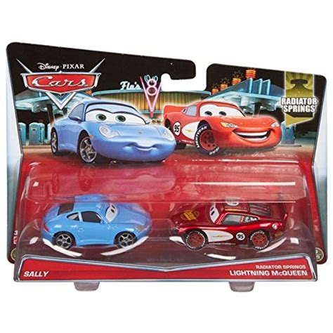 cars sally and lightning mcqueen disney pixar cars radiator springs die cast vehicles