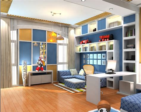 how to make a 3d bedroom model modern kids bedroom 3d model
