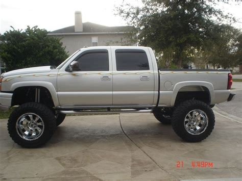 chevy lifted 2006 chevrolet silverado 1500 crew cab lifted for sale