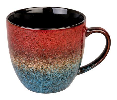 beautiful coffee mugs 13 ounce multicolor solid pattern beautiful coffee mug