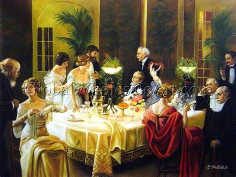 dinner painting jules alexandre grun a dinner paintings on