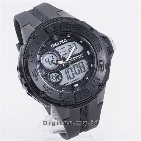 Jam Tangan Pri Digitec Energia Digital Black Grey 1 digitec dg 3029t black grey jam tangan sport anti air murah