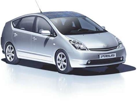 2008 toyota prius in roof solar power for mainstream cars toyota prius hybrid gets