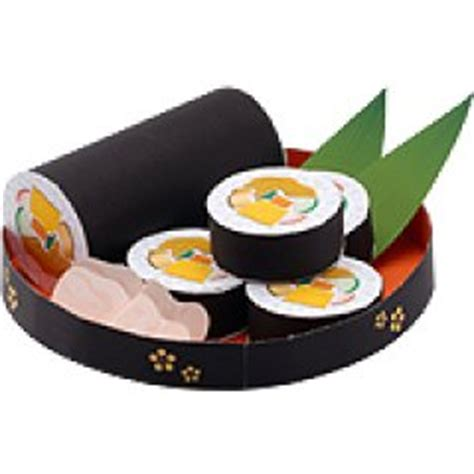 Sushi Papercraft - don t feel like working do some paper craft