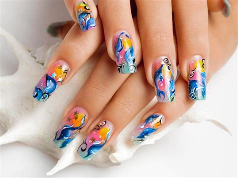 How To Decorate Nails At Home by Unghie Gel Tendenze Primavera Estate 2017 70 Foto