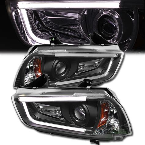 2014 Dodge Charger Led Lights by Hid Version 2011 2014 Dodge Charger Led Drl Projector