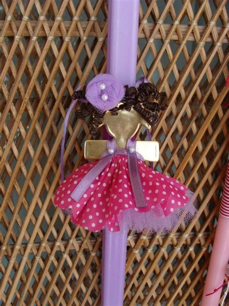 kerzenhalter palme girly easter candle brooch i made it