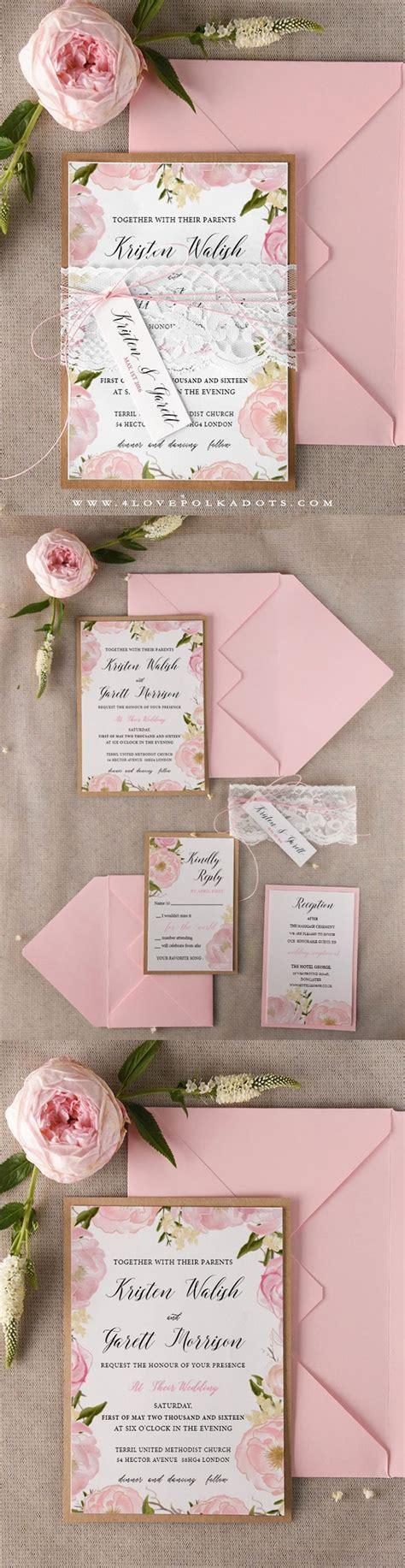 Wedding Invitation Ideas by Best 25 Floral Wedding Invitations Ideas On