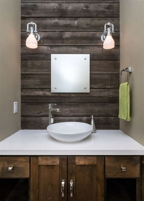 powder room accent wall ideas 17 best images about small bathroom ideas on pinterest