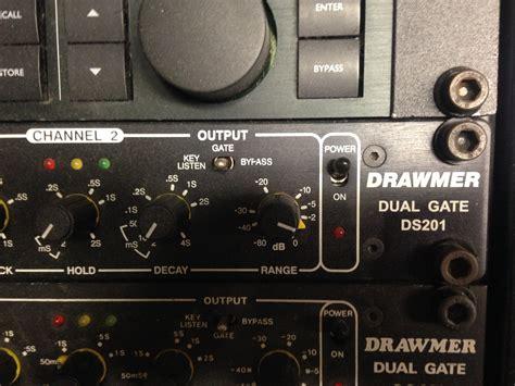 Garageband Noise Gate Photo Drawmer Ds201 Dual Noise Gate Drawmer Ds201 Dual
