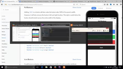 ionic webview tutorial ionic2 inapp browser funnydog tv