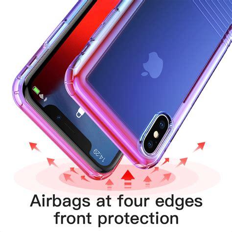 baseus gradient soft siicone case  iphone xs xs max xr