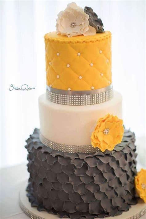 Best 25  Yellow wedding cakes ideas on Pinterest