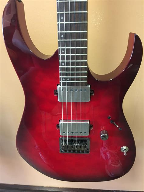 Switch Gitar Ibanez ibanez rg6005 6 string electric guitar w emgs and kill switch reverb
