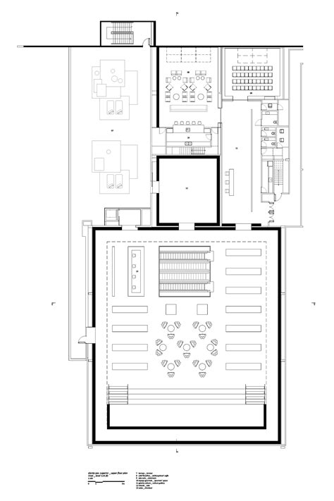 bookstore design floor plan gallery of cultura bookstore diana radomysler luciana