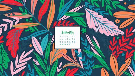 january  desktop wallpaper calendars  design